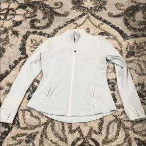 Lulu🍋 White Define  Jacket size 10